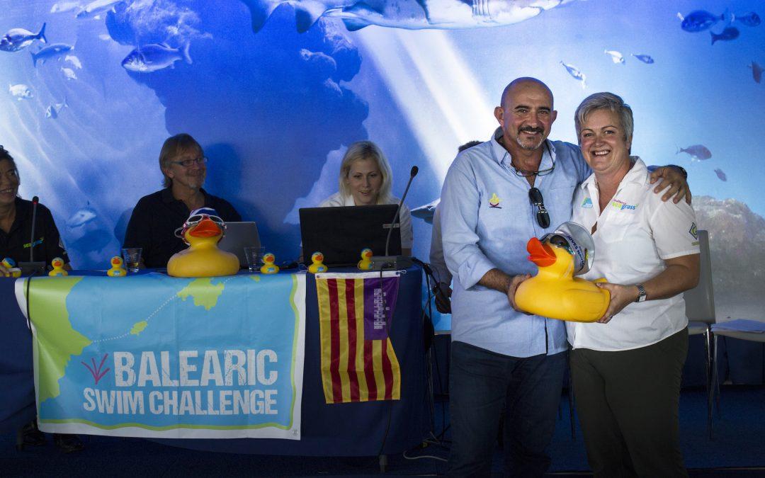 Nadadora de resistencia revela las asociaciones de caridad beneficiarias de la recaudación de la Balearic Swim Challenge